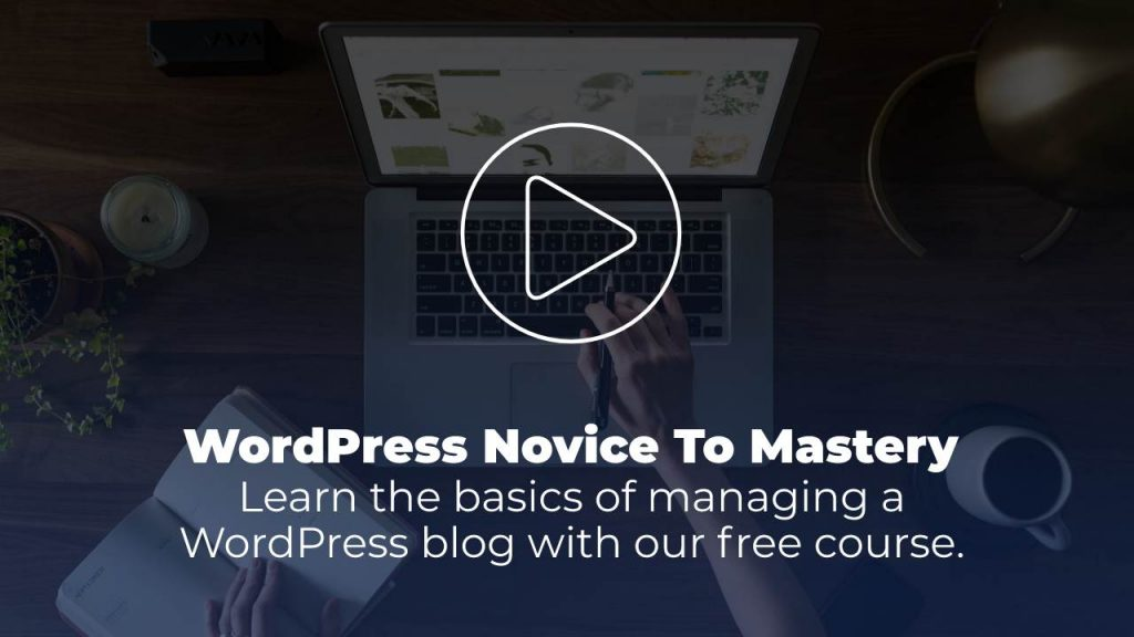 Free WordPress course for beginners